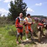 Mario e Francesco,cavalcata del sole 2009