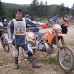 Fabio,cavalcata del sole 2009